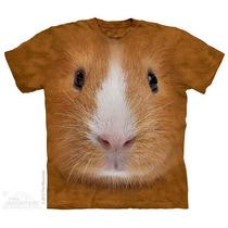 Camisa 3d Guinea Pig Face The Mountain Original