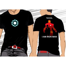 Camisa Camiseta Iron Man, Homem De Ferro #frete Grátis#