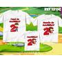 Lembrança De Aniversario Chapeuzinho Vermelho Kit Camisetas