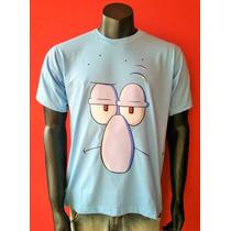 Camiseta Lula Molusco - Bob Esponja, Patrick