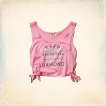 Camiseta Blusa Da Abercrombie Fitch E Hollister Feminina
