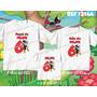 Kit Camisetas Smilinguido Personalizada Aniversario Festa
