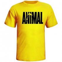 Camiseta Academia Animal_pak_com Manga Linda Compre 3 Leve 4