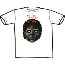 Camiseta Michael Jackson -thriller Night (chega De Mesmice)