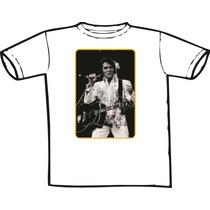Camiseta Elvis Presley- Estampas Diferent (chega De Mesmice)