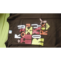 Camiseta Marca Roxy Manga Comprida