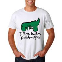 Camiseta T-rex - Sátiras - Tia Shirley Web