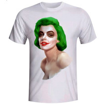 Camiseta Marilyn Monroe Coringa Baby Look