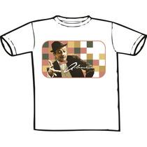 Camiseta Adoniran Barbosa - (bandas Nacionais E Mpb) Só Aqui