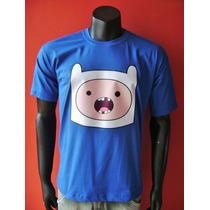 Camiseta Finn, Hora De Aventura