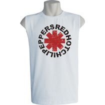 Camiseta Regata Machão Red Hot Chili Peppers Bandas Rock