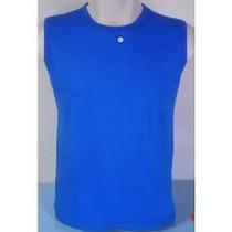 Camiseta Regata Machão Cores 100% Poliester Fio 30.1