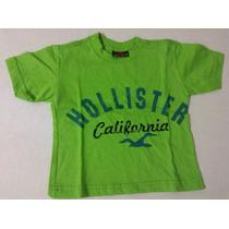 Camiseta Infantil Holister