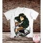 Camiseta Attack On Titan - Levi Rivaille Shingeki No Kyojin