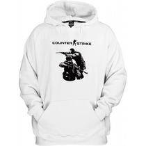Blusa Moletom Com Capuz Counter Strike Ct