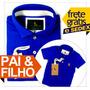 Polo Sheepfyeld Qualidade De Importada Tal Pai Filho Camisa
