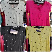 Blusinha Polo Ralph Lauren Babylook Camiseta Feminina