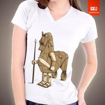 Camisetas Personalizadas Cavalo Troia Historia Filme Camisa