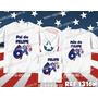 Lembrança De Aniversario Capitão America Kit Camisetas C/ 3