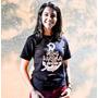 Camiseta Cristã Gola V 100% Algodão Jesus Âncora Da Alma