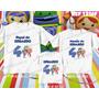 Lembrança De Aniversario Umizoomi Kit Camisetas C/ 3