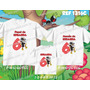 Lembrança De Aniversario Smiliguido Kit Camisetas C/ 3