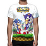 Camisa, Camiseta Game Sonic Generations - Estampa Total