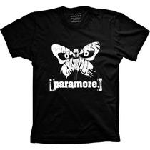 Camiseta Paramore Banda De Rock Paramore Masculina Feminina