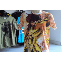 Camisa Ou Camiseta Cavaleiros Do Zodiaco Libra Dohko