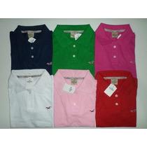 Camisas Gola Polo Femininas Hollister