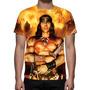 Camisa, Camiseta Conan O Bárbaro (arnold Schwarzenegger)