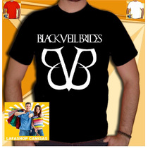 Camiseta Banda Black Veil Brides Camisa Bvb Rock Metal Punk