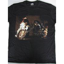 Camiseta Motoqueiro Fantasma - Ghost Rider - Hcd