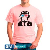 Camisetas Macaco Alto Estilo- 2408