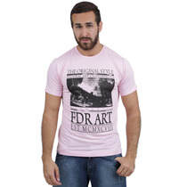 Camiseta Diferenciada Adulto Masculina Federal Art 20