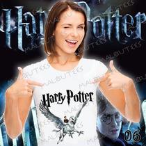 Camiseta Harry Potter Bicuço Hogwarts Roni Baby Look