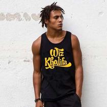 Camiseta Regata Wiz Khalifa - Promoção De Fim De Ano !!!