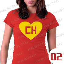 Baby Look Chapolin Colorado Super Heroi Camiseta Vermelha