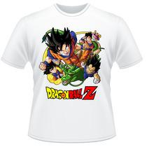 Camiseta Infantil Dragon Ball Z Anime Desenho Camisa #2