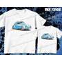 Camiseta Fusca Carro Personalizada Pai E Filho(a) Kit 2 Unid