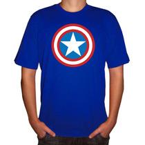 Camisa Super-herói Capitão América