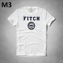 Camiseta Abercrombie & Fitch Gola Redonda 100% Original!