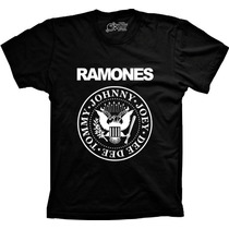 Camiseta Banda Ramones Masculina Feminina Infantil