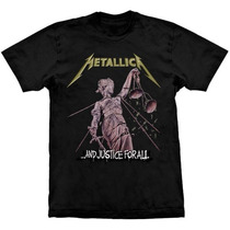 Camiseta Metallica And Justice For All Stamp