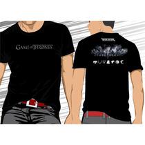 Camisa Camiseta Game Of Thrones, Got #frete Grátis#