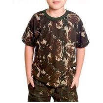 Camiseta Camuflada Infantil Pv