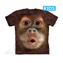 Camiseta Baby Orangotan Orangotango Infantil - The Mountain