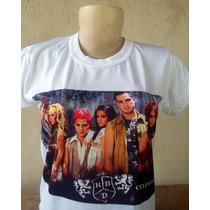Camiseta Rebeldes Rbd México Tradicional Ou Babylook