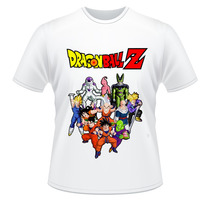 Camiseta Dragon Ball Z Adulto E Infantil