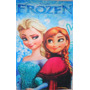 Toalha Frozen Lancheira Rosto Mao Lembrança Anna Elsa